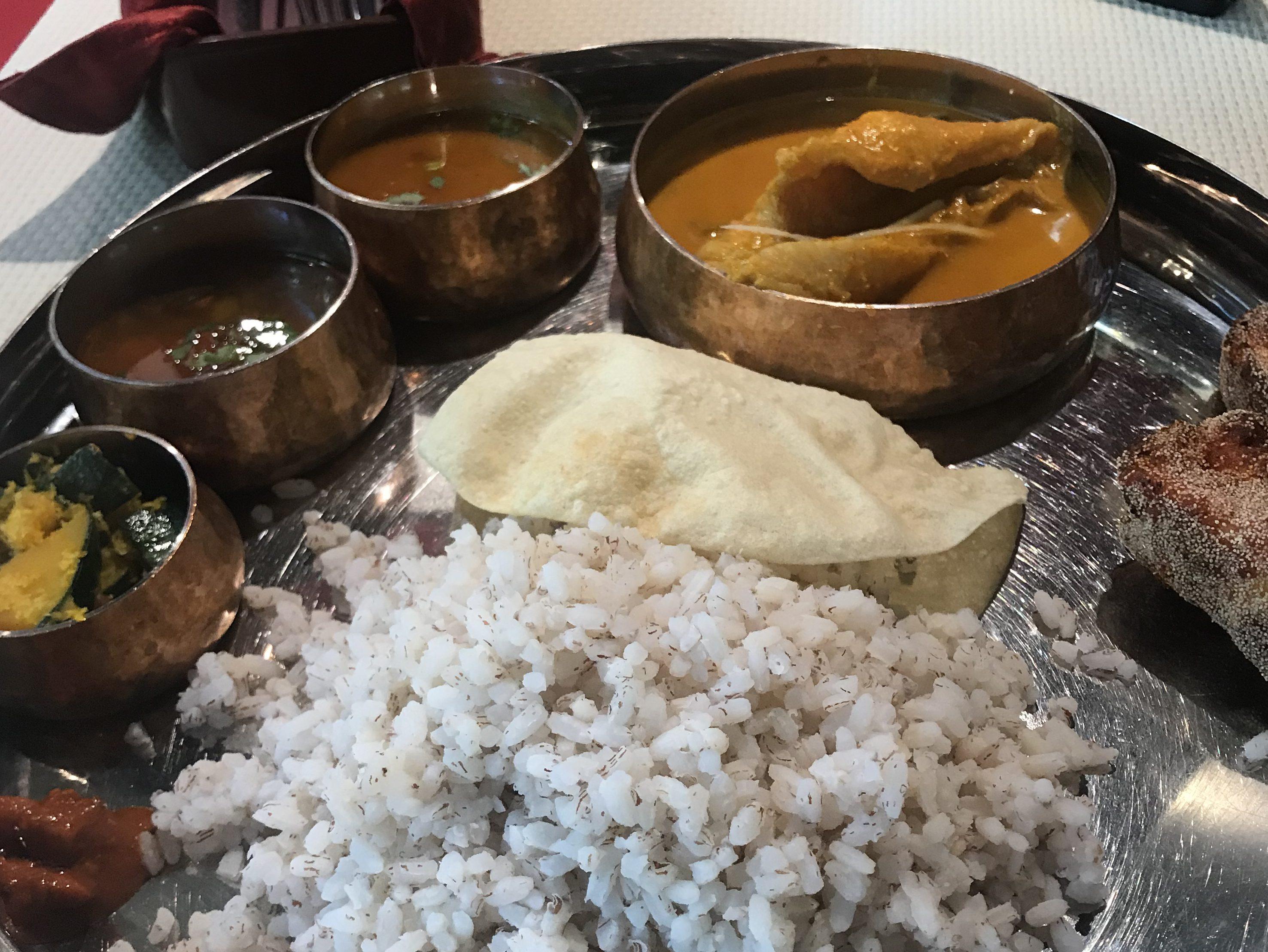 マンガロールの風を浴びに…有楽町 バンゲラズ・キッチンでカレー