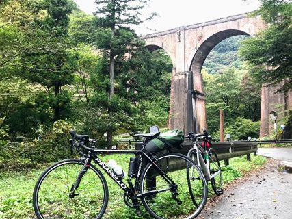 メガネ橋が見たい…碓氷峠をロードバイクで