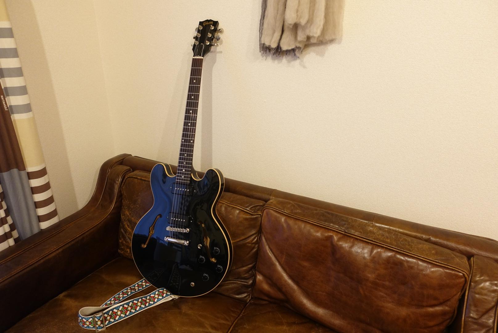 Gibson ES-335 DOT P-90 我が家にセミアコがやってきた。